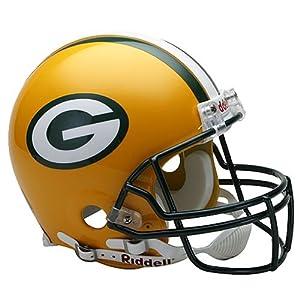 NFL Green Bay Packers Full Size Proline VSR4 Football Helmet by Riddell