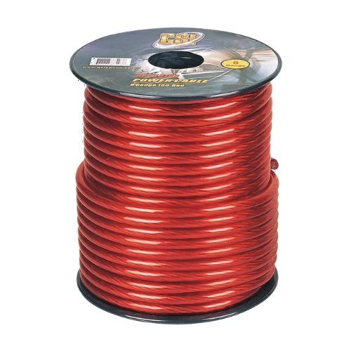 Gsi Gpc8R100 - 8 Gauge Power Ground Cables