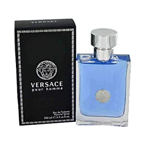 Versace Pour Homme by Versace, Eau De Toilette Spray 3.4 oz, Men