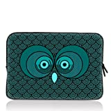 "ToLuLu® Owl 14"" 14.4"" inch Notebook Laptop Case Sleeve Carrying bag for Lenovo Y470 Y480/ASUS A43 N46 X84/Samsung 530 Q470 Q460/DELL Inspiron 14R Vostro 1450 XPS 14/HP DV4 ENVY 4 G4/TOSHIBA 800/SONY EG3/ACER/Thinkpad E420"