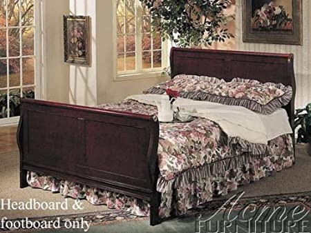 WelcomeiHome .INC Queen Size Headboard and Footboard Cherry Finish at Sears.com