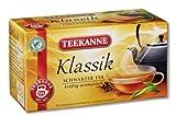 Teekanne Klassik Schwarztee 20 Beutel, 4er Pack (4 x 35 g...