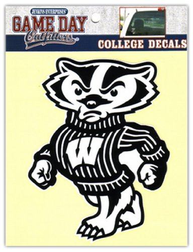 NCAA Wisconsin Badgers Window Decal/Stickers (Badger Window Decal compare prices)