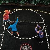 BSN Basketball Court Stencil Set