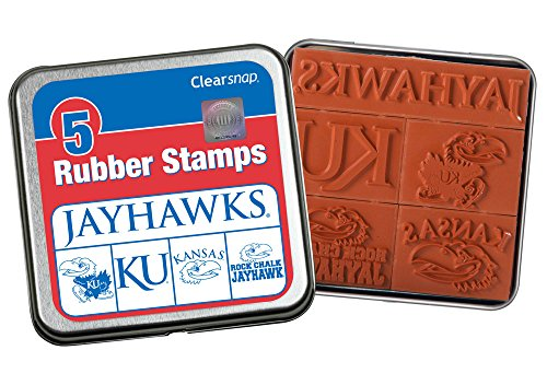 Clearsnap Color Box The University of Kansas Rubber Stamp Kit