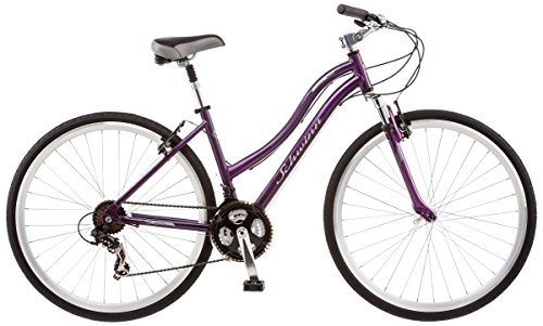 Fantastic Deal! Schwinn Odana 700c Women's 16 Hybrid Bike, 16-Inch/Small, Purple