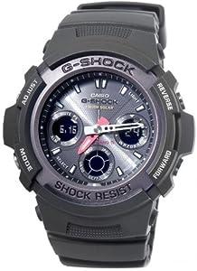[カシオ]CASIO Gショック 電波 ソーラー メンズ 腕時計 マルチバンド5 AWG101-1A [逆輸入]
