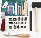 レザークラフト 工具セット 菱目打ち 初心者 入門 スターターキット 革 皮 手縫い