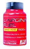 L-arginine Fuel 1500mg Increased Performance Boost Nitric Oxide Levels, Endurance and Full Time Energy Enhancement Conditionally Essential amino acid L Arginine Supplement Stamina - 60 Capsules