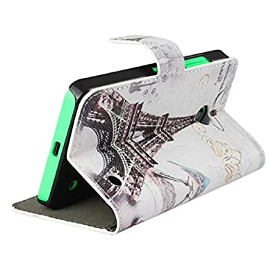 TOOPOOT® Magnetic Eiffel Tower Leather Case Skin Cover For Nokia Lumia 630 635 from TOOPOOT®
