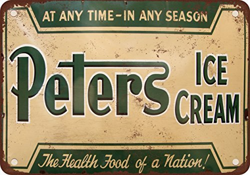 peters-ice-cream-vintage-look-reproduction-metal-tin-sign-7x10-inches