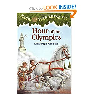 Hour of the Olympics (Magic Tree House #16) (A Stepping Stone Book(TM)) by Mary Pope Osborne and Sal Murdocca
