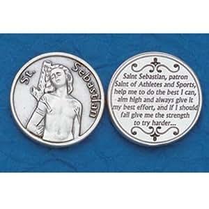25 St. Sebastian Prayer Coins|Amazon.com