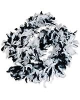 Black and White Boa (1 pc)