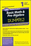 1,001 Basic Math & Pre-algebra Practi...