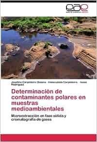Determinación de contaminantes polares en muestras medioambientales