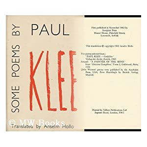 paul klee poet