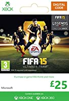 Xbox Live £25 Gift Card: FIFA 15 Ultimate Team [Xbox Live Online Code]