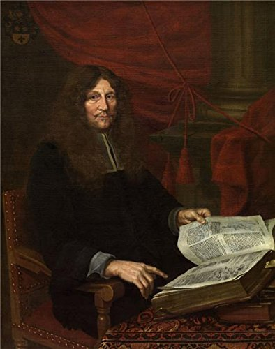 'Nicolaas Stramot II,Portrait Of Priest Frans Van Sterbeeck,about 18th Century' Oil Painting, 24x30 Inch / 61x77 Cm ,printed On Perfect Effect Canvas ,this Cheap But High Quality Art Decorative Art Decorative Canvas Prints Is Perfectly Suitalbe For Living Room Artwork And Home Decoration And Gifts