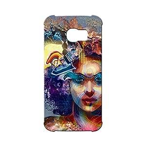 BLUEDIO Designer Printed Back case cover for Samsung Galaxy S6 Edge - G5360