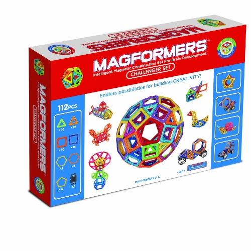 Magformers 112 Challenger Set front-1028895