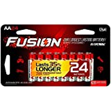 FUSION by Rayovac High-Performance AA Alkaline Batteries, 24-count