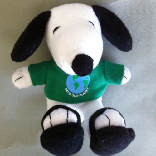 Peanuts SNOOPY SAVE OUR PLANET/GO GREEN Metlife Plush (New/Sealed) - 1