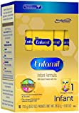 Enfamil Infant Formula Milk-Based with Iron, Single Serve Packets, 16 Count-17.6g (Packaging May Vary)