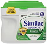 Similac Organic Powder, 23.2-Ounces (Pack of 6)