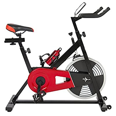 Best Choice Products Exercise Bike Health Fitness Indoor Cycling Bicycle Cardio Workout W/ LCD Screen