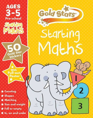 Starting Maths (Gold Stars Preschool Workbooks)
