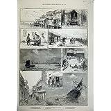 Pescherecci 1880 del Tempio della Nave di San Francisco di Cinese