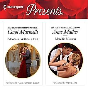 Billionaire Without a Past & Morelli's Mistress Audiobook