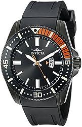 Invicta Men's 21449 Pro Diver Analog Display Japanese Quartz Black Watch