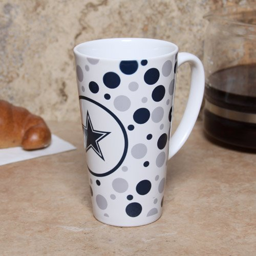 Nfl Dallas Cowboys 16-Ounce White Latte Mug