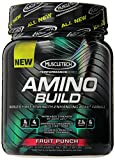 Amino Build by MuscleTech - Superior Strength Enhancing BCAA Post-Workout Supplement (Fruit Punch, 50 Servings)