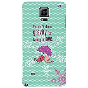 Falling In Love - Mobile Back Case Cover For Samsung Galaxy Note 4 Edge