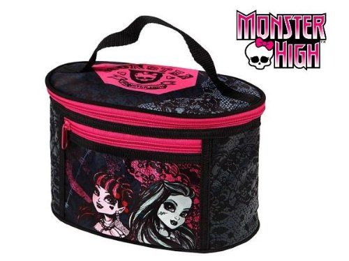 Monster High gro&#223;e Kosmetiktasche Beauty Case Tasche MH11064 f&#252;r Kosmetik und Make UP