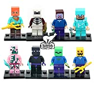 DESO� 8pcs/Set MC Bricks Blocks Figur…