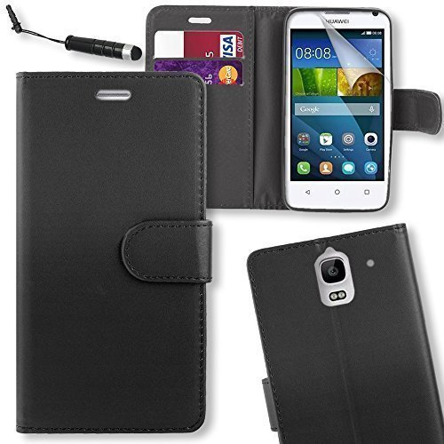 connect-zoner-huawei-ascend-y3-black-pu-leather-flip-wallet-case-cover-pouch-with-screen-protector-p