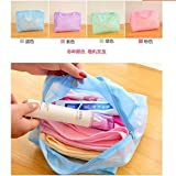 New Arrival Baby Shower Wash Bag Large Transparent Travel Female Models Floral Bath Water Supplies Korean Cosmetics Pouch (green)