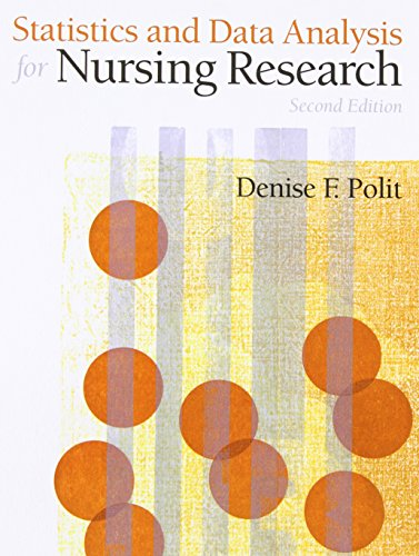 Statistics and Data Analysis for Nursing Research (2nd Edition) PDF