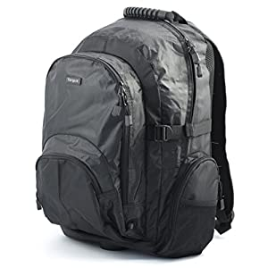 Targus CN600 XL Classic Laptop Computer Backpack fits 15-15.6 inch - Black