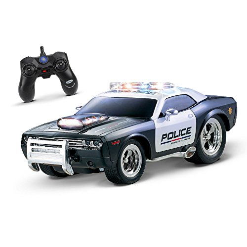 KidiRace RC Remote Control Police Car for Kids Durable, Rechargeable, Easy To Control (Battery For Car Control Remote compare prices)