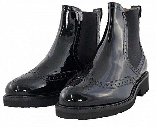NeroGiardini - Chelsea Boots brogue - NeroGiardini Donna - A616027D/100 - 39, Nero