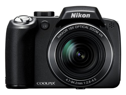 Nikon Coolpix P80 Digital Camera - Black (10.0MP, 18x Optical Zoom) 2.7 inch LCD
