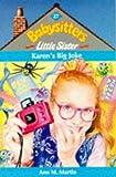 Karen's Big Joke (Babysitters Little Sister) (059013485X) by Martin, Ann M.