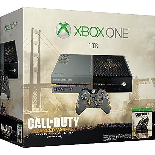 Xbox One Xbox One 1TB (콜 오브 duty advanced・ 우후아  리미티드 에디션) (5C7-00017) (『콜 오브 duty advanced・ 우후아 』커스텀 디자인 wireless 콘트롤러 동봉)- (2014-11-13)