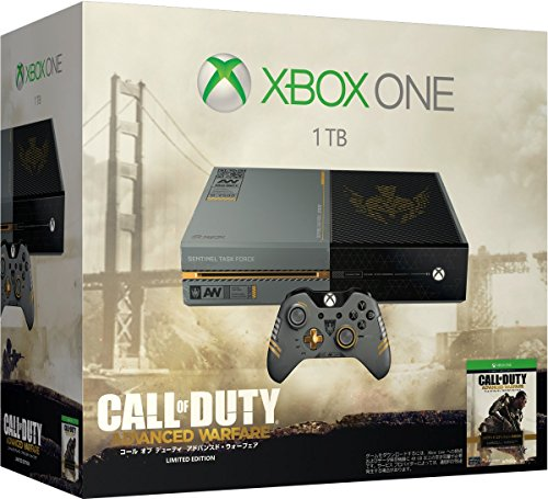 Xbox One (call of duty advanced / warfare limited edition) (5C7-00017) ('call of duty advanced / warfare' custom design wireless controller bundle)