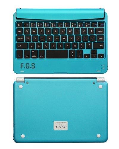 F.G.SiPad mini がノートパソコンに変身 iPad mini専用ノートパソコン型キーボードキット全5色 F.G.S正規代理品 (ライトブルー)